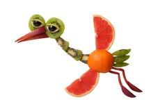 Flying fruit heron stock image