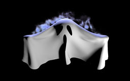 Flying Ghost Stock Image