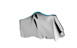 Flying Ghost Sheet Royalty Free Stock Images
