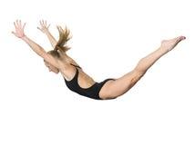Flying girl Stock Photo