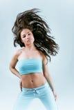 Flying hair Royalty Free Stock Photo