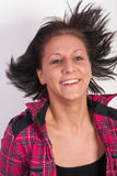 Flying hair Stock Photography