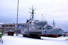 Flying Harbour (Estonian Maritime Museum) Stock Image