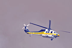 Flying Into Harm's Way Royalty Free Stock Photo