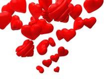 Flying heart Stock Photo