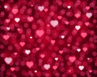 Flying hearts Royalty Free Stock Images