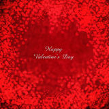 Flying hearts Valentine's day or wedding  background. Valentine's day background with hearts Stock Image