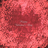 Flying hearts Valentine's day or wedding  background. Valentine's day background with hearts Stock Images