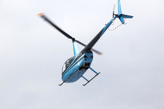 Flying helicopter Royalty Free Stock Photos