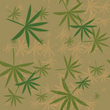 Flying hemp background. Abstract texture Stock Image