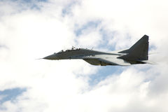 Flying high. In the air-MIG 29 Royalty Free Stock Image