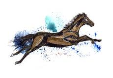 Flying horse Royalty Free Stock Image