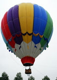 Flying Hot air balloons Stock Photos