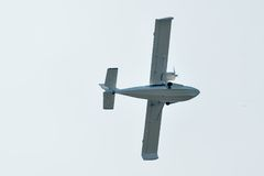 Flying hydroplane SK-12 Orion Stock Photography