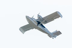 Flying hydroplane SK-12 Orion Stock Images