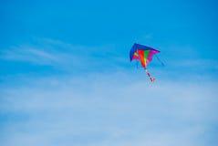 Flying kite Stock Image