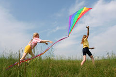 Free Flying Kite Royalty Free Stock Image - 2650456