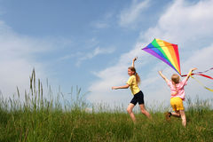 Free Flying Kite Stock Photography - 2650502