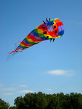 Flying kite stock images