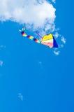Flying kite Stock Photography