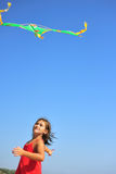 Flying kite Royalty Free Stock Images