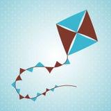 Flying kite Stock Photos