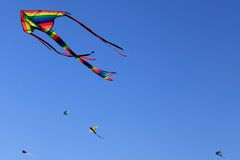 Flying Kites Royalty Free Stock Image