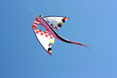 Flying kites Stock Photos