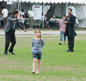 Flying Kites at Festival Stock Photos