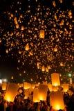 Flying Lantern Royalty Free Stock Images
