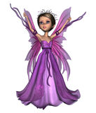 Flying Little Fairy Butterfly Royalty Free Stock Image