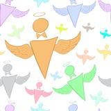 The flying little men Stock Photo
