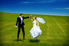 Flying of love Royalty Free Stock Photography