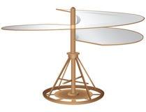 Flying machine vector illustration