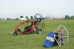 Flying machines Stock Image