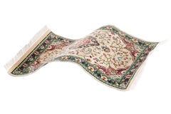 Flying magic carpet isolated Stock Photos