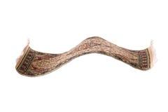Flying magic carpet isolated Royalty Free Stock Image