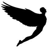 Flying man Royalty Free Stock Image
