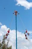 Flying Men Dance Stock Photo