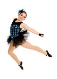 Flying Modern Ballet Dancer Child Royalty Free Stock Image
