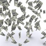 Flying money Stock Photography