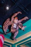 Flying Monkey - Yellow Brick Road Casino - Chittenango, New York. Flying monkey stature at Yellow Brick Road Casino designed to celebrate `The Wonderful Wizard stock photos