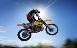 Free Flying Moto Stock Photos - 3075473