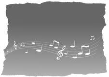 flying music Στοκ Εικόνα