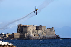 Flying on naples Royalty Free Stock Photo