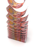 Flying New Zealand Dollar Royalty Free Stock Photos