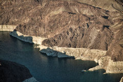 Flying Over Lake Mead National Recreation Area, Nevada Stock Photos