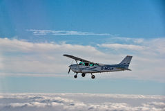 Flying Over North Norfolk Royalty Free Stock Image