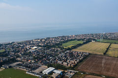Flying Over North Norfolk Stock Images