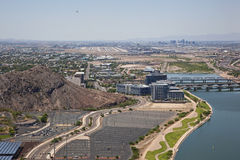 Flying over Tempe Stock Photos
